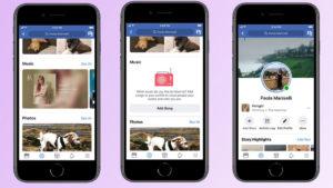 Pronto podrás añadir música a tu perfil de Facebook