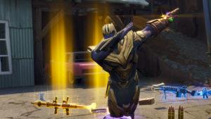Fornite: avistado Thanos en la última actualización, ¿volverá al  juego?