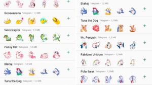 Descarga nuevos packs de stickers para WhatsApp… ¡gracias a Telegram!