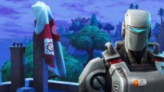 Un robot aterriza en Fortnite Battle Royale: el misterio de A.I.M y la Temporada 7