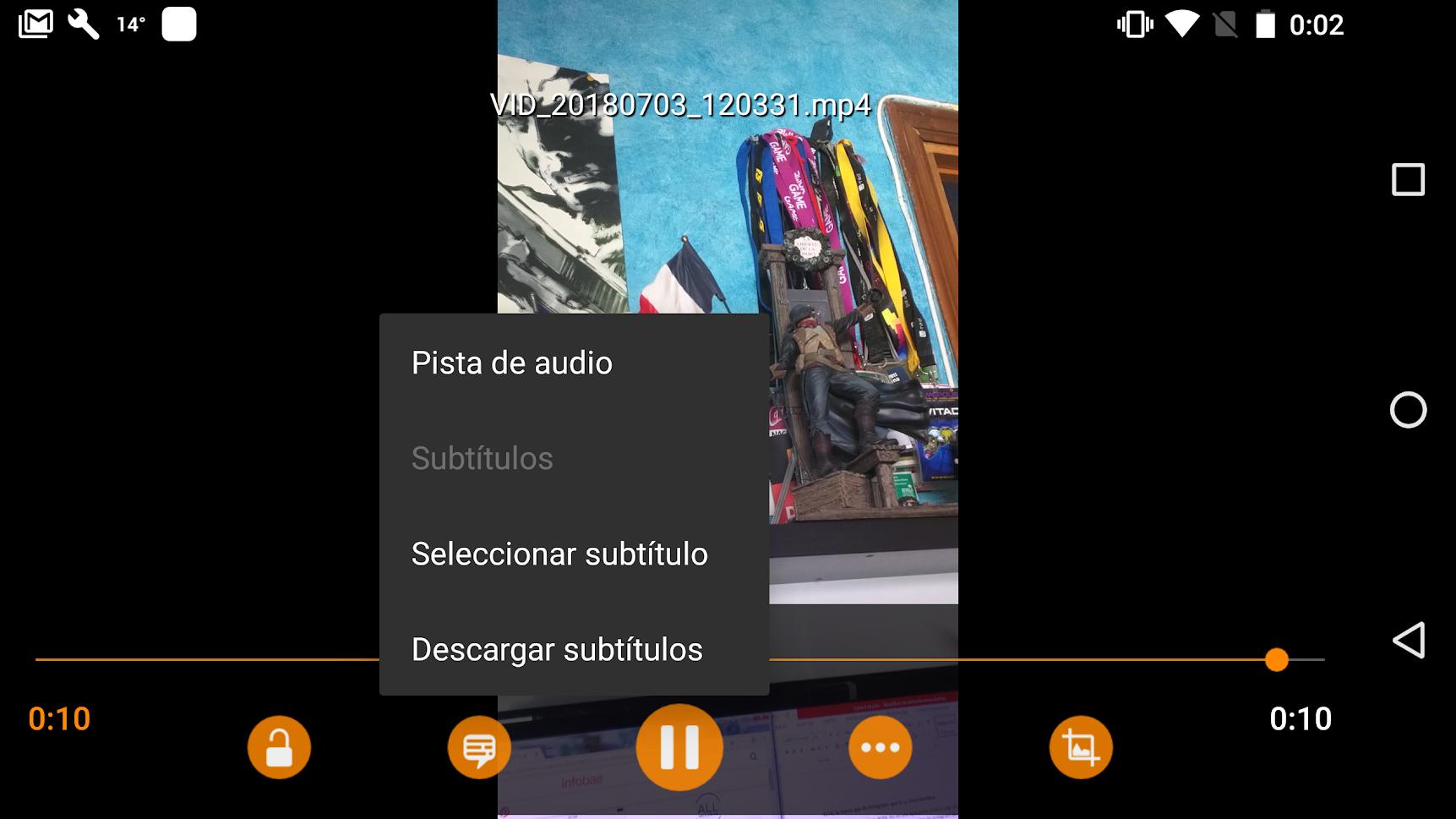Cómo poner subtítulos en un vídeo en Android