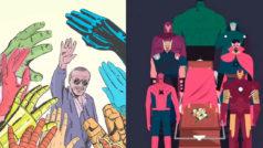 Los fans despiden a Stan Lee con estas ilustraciones