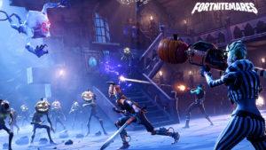 Fortnite Battle Royale: Consigue una puntuación de 3 o más en diferentes galerías de tiro al plato (Desafíos de la Semana 8, Temporada 6)