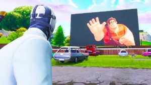 Ralph, de Rompe Ralph, invade por sorpresa Fortnite: Battle Royale