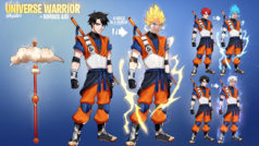 Dragon Ball y Naruto inspiran esta skin no-oficial de Fortnite: Battle Royale