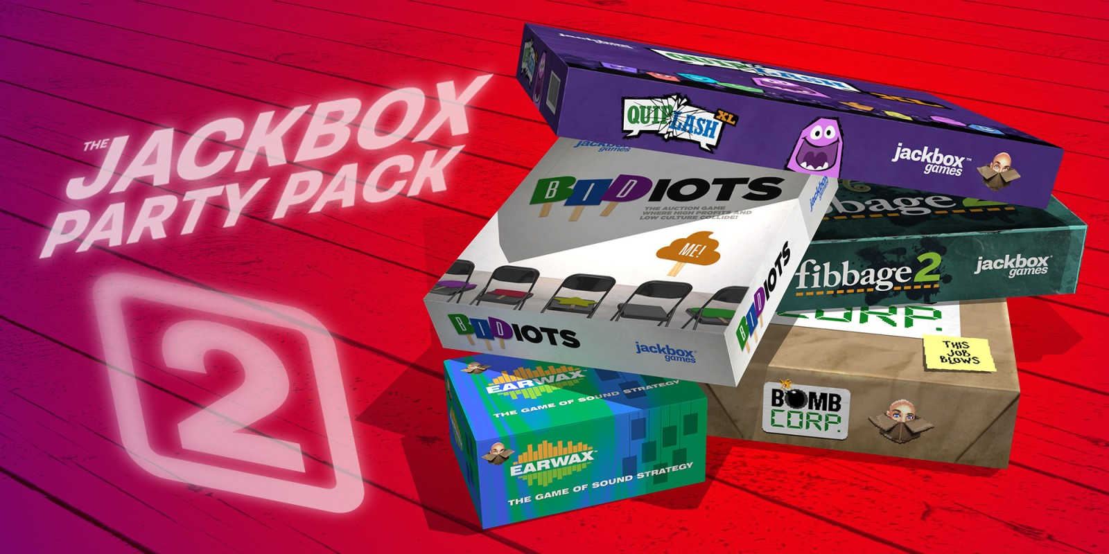 Jackbox Party Pack 2(PS3)