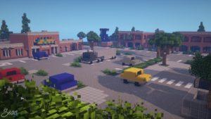 Ciudad Comercio de Fortnite llega a Minecraft con este mapa increíble