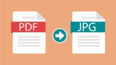 Cómo convertir un documento PDF a JPG