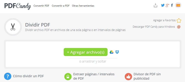 Cómo dividir un archivo PDF