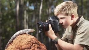 """Las fotos del hijo de 14 años del """"cazador de cocodrilos"""" son mejores que las que tú harás en toda tu vida"""