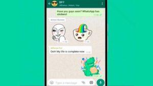 WhatsApp permitirá la integración de Stickers para teclados de terceros
