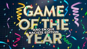 Descubre cuál fue el mejor videojuego el año en que naciste