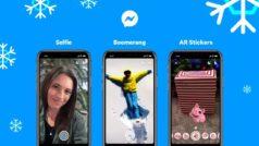 Facebook Messenger: ya puedes usar stickers con realidad aumentada, modo selfie y vídeos boomerang