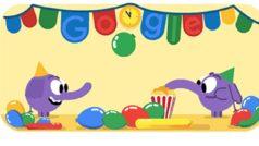 Google repasa el 2018 y nos felicita el Fin de Año con un doodle
