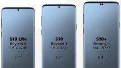 Samsung Galaxy S10: filtrada fecha de lanzamiento y todas sus versiones
