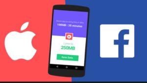 Batalla entre Apple y Facebook por el bloqueo de aplicaciones