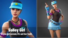 Se filtra nuevo personaje de Fortnite Battle Royale: Volley Girl