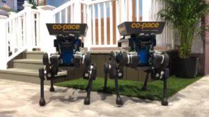 Perros robot, los nuevos repartidores de pedidos
