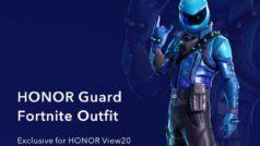 Se anuncia una nueva skin de Fornite al alcance de muy pocos usuarios: la HONOR Guard