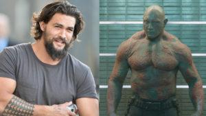 Así habría sido Jason Momoa como Drax en Guardianes de la Galaxia