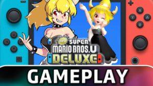 Un fan mete a la waifu Bowsette en New Super Mario Bros. U Deluxe de Nintendo Switch