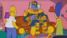 Thanos realiza un cameo chasqueante en el último episodio de Los Simpsons