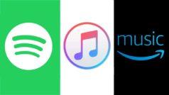 Apple Music vs Spotify vs Amazon Music Unlimited