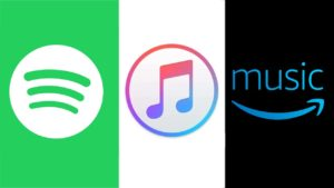 Apple Music vs Spotify vs Amazon Music Unlimited