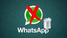 WhatsApp elimina el historial de chats y los usuarios se quejan