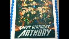 Marvel: El pastel de cumple de Anthony Russo es el colofón de los memes de Infinity War
