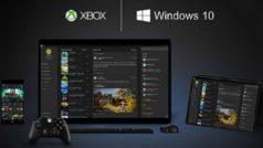 Windows 10 permitirá jugar a títulos de Xbox One de forma nativa