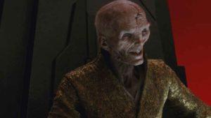 Un rumor insiste que Snoke regresará en Star Wars Episodio 9