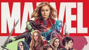 """""""Ella no está sola"""": La mega-ilustración que junta a la Capitana Marvel con las otras heroínas Marvel"""