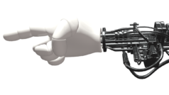 Una mano robótica ya es capaz de reconocer objetos con sólo tocarlos