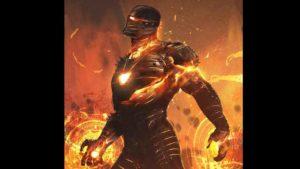 Los Vengadores Endgame: Imagen de Iron Man con una armadura mística