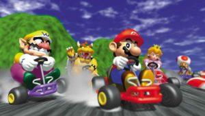 Mario Kart con 24 conductores a la vez es puro caos
