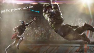 El camino a Vengadores Endgame: Bruce Banner le roba el martillo a Thor
