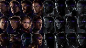 Los 32 nuevos posters de Los Vengadores Endgame ocultan un secreto muy equilibrado