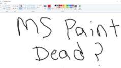 Microsoft Paint se queda con nosotros y seguirá presente en Windows 10