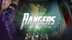 Rangers Endgame: el tráiler de Los Vengadores Endgame pero con… ¿¡los Power Rangers!?