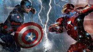 Robert Downey Jr. y Chris Evans se ríen del traje de Capitán América en Los Vengadores