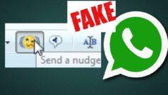 WhatsApp no tiene ni tendrá zumbidos como Messenger, es una noticia falsa!