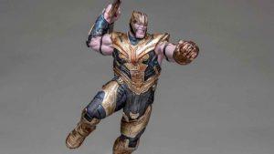 Vengadores Endgame: La nueva figura de Thanos nos permite observar su nueva arma letal
