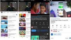 YouTube experimenta recomendaciones en sus vídeos y una renovación para Android