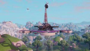 Visita todas las plataformas celestes: Desafío de la Semana 1 de Fortnite Battle Royale