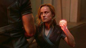 La Capitana Marvel se enfrenta a la masculinidad tóxica en esta escena eliminada de su peli