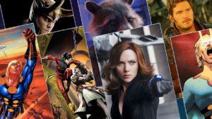Disney anuncia las fechas para las 8 películas de la Fase 4 del Universo Marvel