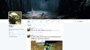 Así serían los perfiles de los personajes de Star Wars si usaran las redes sociales
