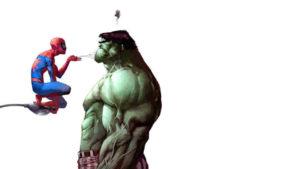 Tom Holland quiere que su Spider-Man forme equipo con cierto Vengador verde y con problemas para gestionar la ira