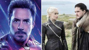 Vengadores: Endgame y Juego de Tronos arrasan en la gala de premios MTV